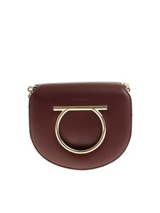 Salvatore Ferragamo - Burgundy Genuine shoulder bag
