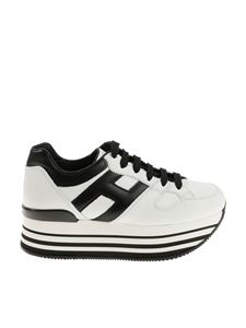 Hogan - Black and white H283 sneakers