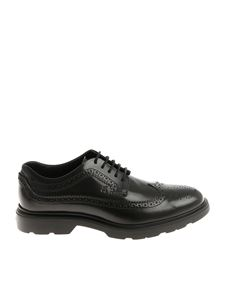 Hogan - Black Brogue Derby shoes