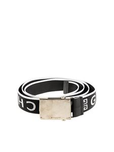 Givenchy - Branded fabric belt