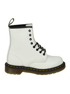 Dr. Martens - Stivale 1460 Smooth bianco