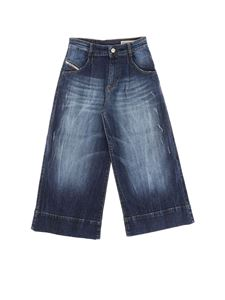Diesel - Blue palazzo jeans