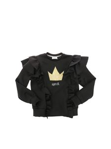 Fendi Jr - Black Queen scuba sweatshirt