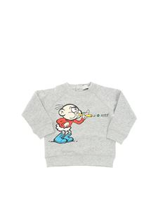 Stella McCartney Kids - Billy gray sweatshirt with multicolor print