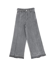 Diesel - Gray jeans with pleats
