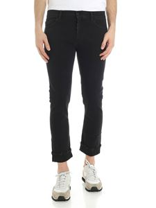 Pence - Black Tosco jeans with vintage effect
