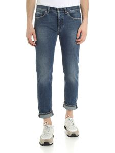 Pence - Blue Malco jeans with vintage effect