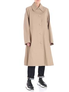 MM6 by Maison Martin Margiela - Beige overfit padded trench
