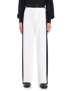 MM6 by Maison Martin Margiela - Cream colored flared trousers