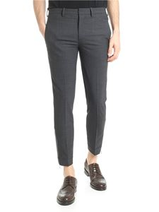 Neil Barrett - Grey super skinny trousers with zip on the bottom