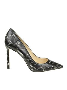 Jimmy Choo - Romy 100 black pointy pumps