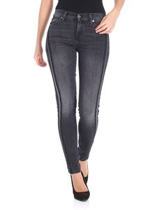 7 For All Mankind - Black The skinny slim illusion jeans