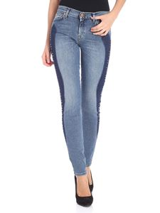 7 For All Mankind - Blue The skinny jeans with studs