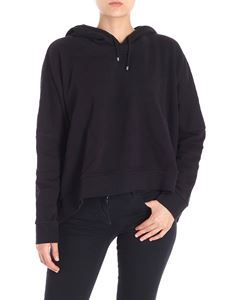 7 For All Mankind - Black overfit hoodie
