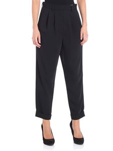 MM6 by Maison Martin Margiela - Black crop trousers