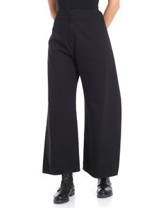 MM6 by Maison Martin Margiela - Black design pants with rope strap