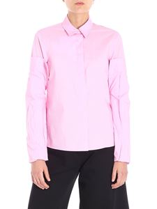MM6 by Maison Martin Margiela - Pink shirt with adjustable sleeves
