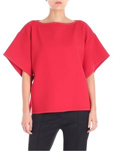 MM6 by Maison Martin Margiela - Red top with strap