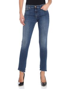 7 For All Mankind - Blue Pyper crop jeans