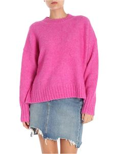 Helmut Lang - Fuchsia overfit pullover
