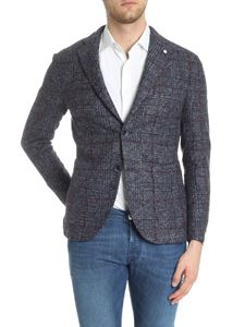 L.B.M. 1911 - Two-button wool speckle fabric jacket