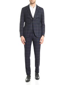 L.B.M. 1911 - Check two button suit