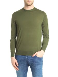 Aspesi - Army green crewneck knitted pullover