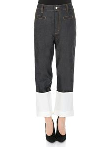Loewe - Fisherman Contrast Stitching jeans