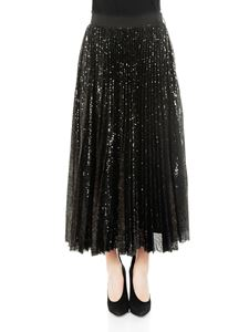 MSGM - Black sequins skirt