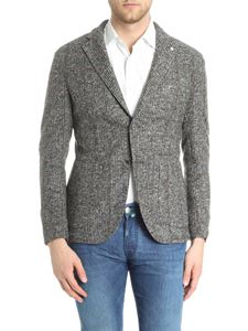 L.B.M. 1911 - Black and white two-button jacket