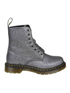 Dr. Martens - Anfibio 1460 Pascal in pelle color antracite