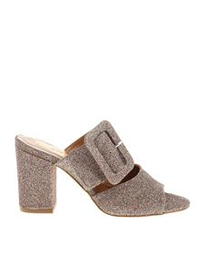 Paris Texas - Multicolor glittered mules