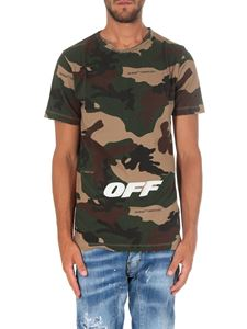 Off-White - Camouflage S/S T-shirt