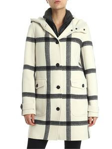 Woolrich - Cream-colored Marcy coat