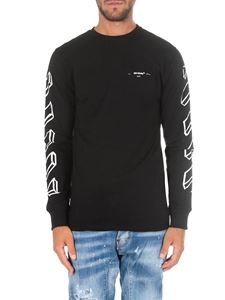 Off-White - Black 3D Marker Line L/S sweatshirt