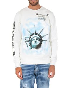 Off-White - White Liberty sweatshirt