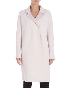 Lorena Antoniazzi - Cream colored coat with zip