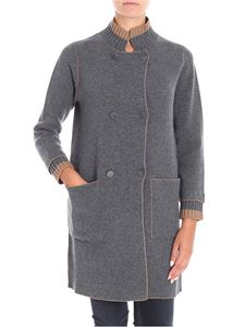 Le Tricot Perugia - Reversible knitted coat