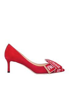Jimmy Choo - Red Tegan 60 pumps