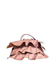 Borbonese - Pink Sexy bag with ruffles