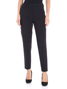 Max Mara Weekend - Black Estella technical crepe trousers
