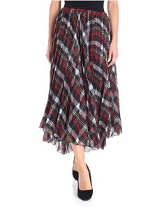 Blugirl - Tartan printed pleated skirt