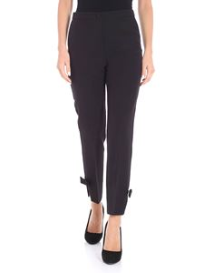 Blugirl - Black trousers with bows