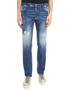 Dsquared2 - Vlue Cool destroyed Guy jeans