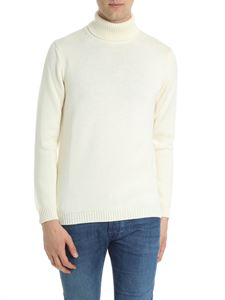 Roberto Collina - Cream color knitted turtleneck