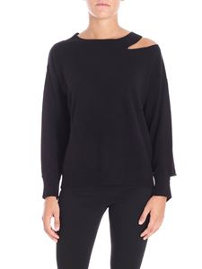 Pinko - Black Calanthe sweater with cut out