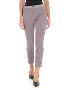 Pinko - Hound's-tooth fabric Trancia trousers