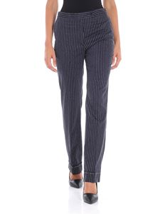 Golden Goose Deluxe Brand - Blue Venice pinstripe trousers