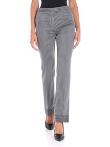 Golden Goose Deluxe Brand - Grey Venice pinstriped trousers
