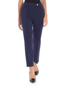 Tory Burch - Blue Sara Milano fabric trousers